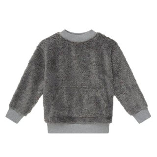 <img class='new_mark_img1' src='https://img.shop-pro.jp/img/new/icons1.gif' style='border:none;display:inline;margin:0px;padding:0px;width:auto;' /> Faux shearling sweatshirt 4Y-8Y