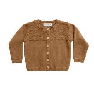 Knit Cardigan Walnut 6M-3Y