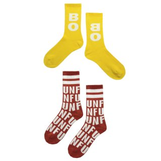<img class='new_mark_img1' src='https://img.shop-pro.jp/img/new/icons1.gif' style='border:none;display:inline;margin:0px;padding:0px;width:auto;' />【Pre-order】Long socks pack red&yellow 23-34