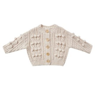 <img class='new_mark_img1' src='https://img.shop-pro.jp/img/new/icons1.gif' style='border:none;display:inline;margin:0px;padding:0px;width:auto;' />Bobble cardigan Stone 12m -7Y