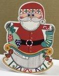 クリスマススイングカード  サンタクロース🎅