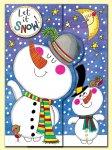 クリスマス ワイルドカード スノーマン