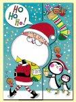 クリスマス ワイルドカード クリスマスのサンタクロース