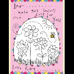 メッセージカード お花