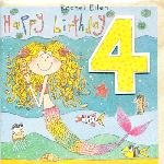 日本未入荷 年齢別DIGカード 4歳 Girl