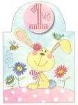 年令別誕生カード 1歳 女の子