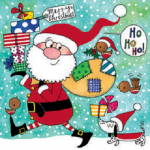 <img class='new_mark_img1' src='https://img.shop-pro.jp/img/new/icons31.gif' style='border:none;display:inline;margin:0px;padding:0px;width:auto;' />クリスマス ジグソーパズルカード サンタクロース