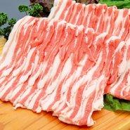 黒豚やごろう豚 バラ肉 しゃぶしゃぶ500g