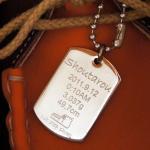 メモリアルプレート(真鍮・シルバーメッキ)スタンダード