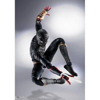 S.H.Figuarts スパイダーマン[ブラック&ゴールドスーツ](スパイダーマン:ノー・ウェイ・ホーム)[BANDAI SPIRITS]《01月予約》