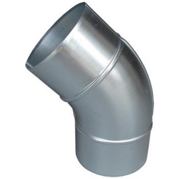 プレスエルボ45°125φ ガルバリウム イメージ1