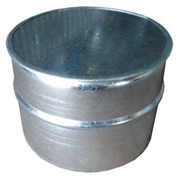 ダクトキャップ(SPサイズ) 125φ 亜鉛 イメージ1