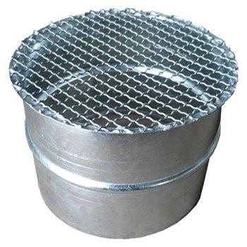 アミ付キャップ(SPサイズ) 150φ ガルバリウム イメージ1