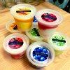 4種のフルーツソースで食べるレアチーズジェラート