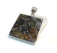 ☆貴重☆パラサイト(隕石)×ペンダントトップ[地球に落下する隕石の中で2%しかない隕石]1