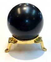 モーリオン(黒水晶)×丸玉[チベット産のモーリオン入荷]1