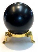 モーリオン(黒水晶)×丸玉[チベット産のモーリオン入荷]3