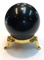 モーリオン(黒水晶)×丸玉[チベット産のモーリオン入荷]4