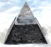 水晶ピラミッド×クリスタルキャンドル[真心を込めて☆Hand Made☆で製作しております!]1