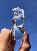 龍×瓢箪(ひょうたん)×彫刻[水晶☆4点限定入荷☆]3