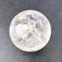 水晶×丸玉[☆レインボー入りの水晶☆]