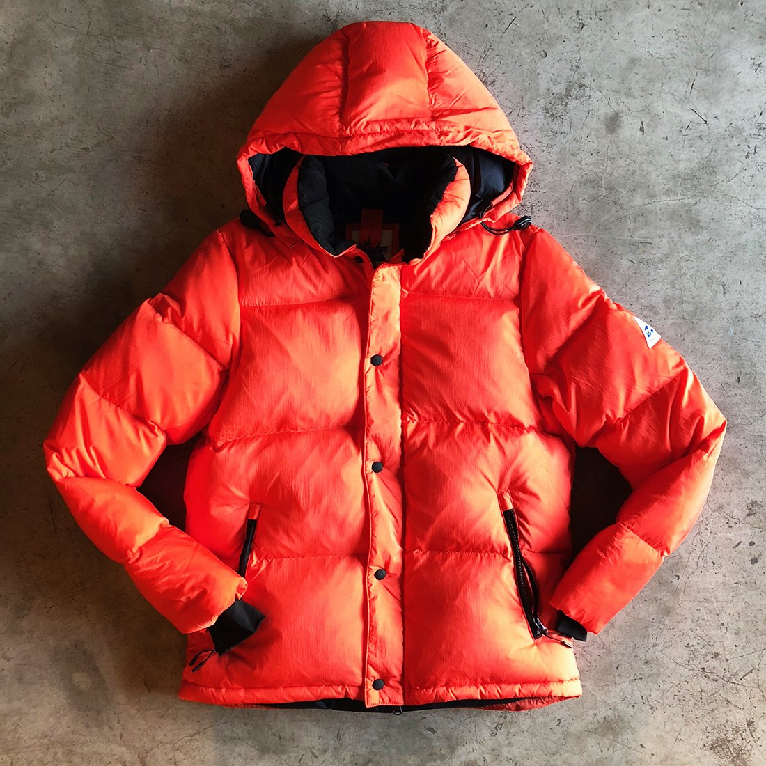 Cape Heights    #BOREALIS Jacket -FLERY ORANGE