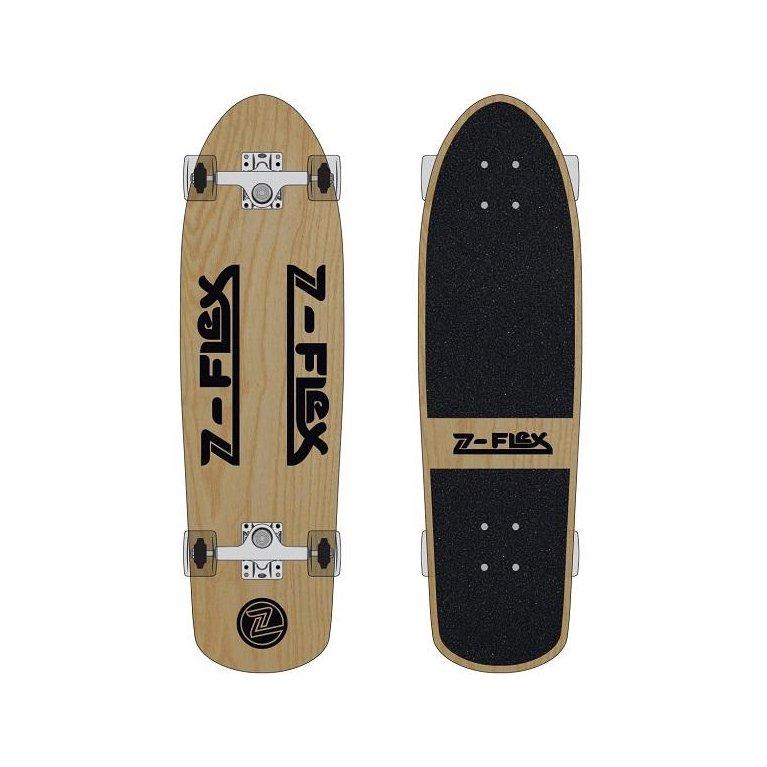 Z-FLEX Skateboards #30INCH RETRO CLASSIC COMPLETE -WOOD