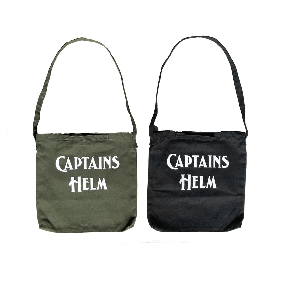 CAPTAINS HELM #LOGO 2WAY TOTE