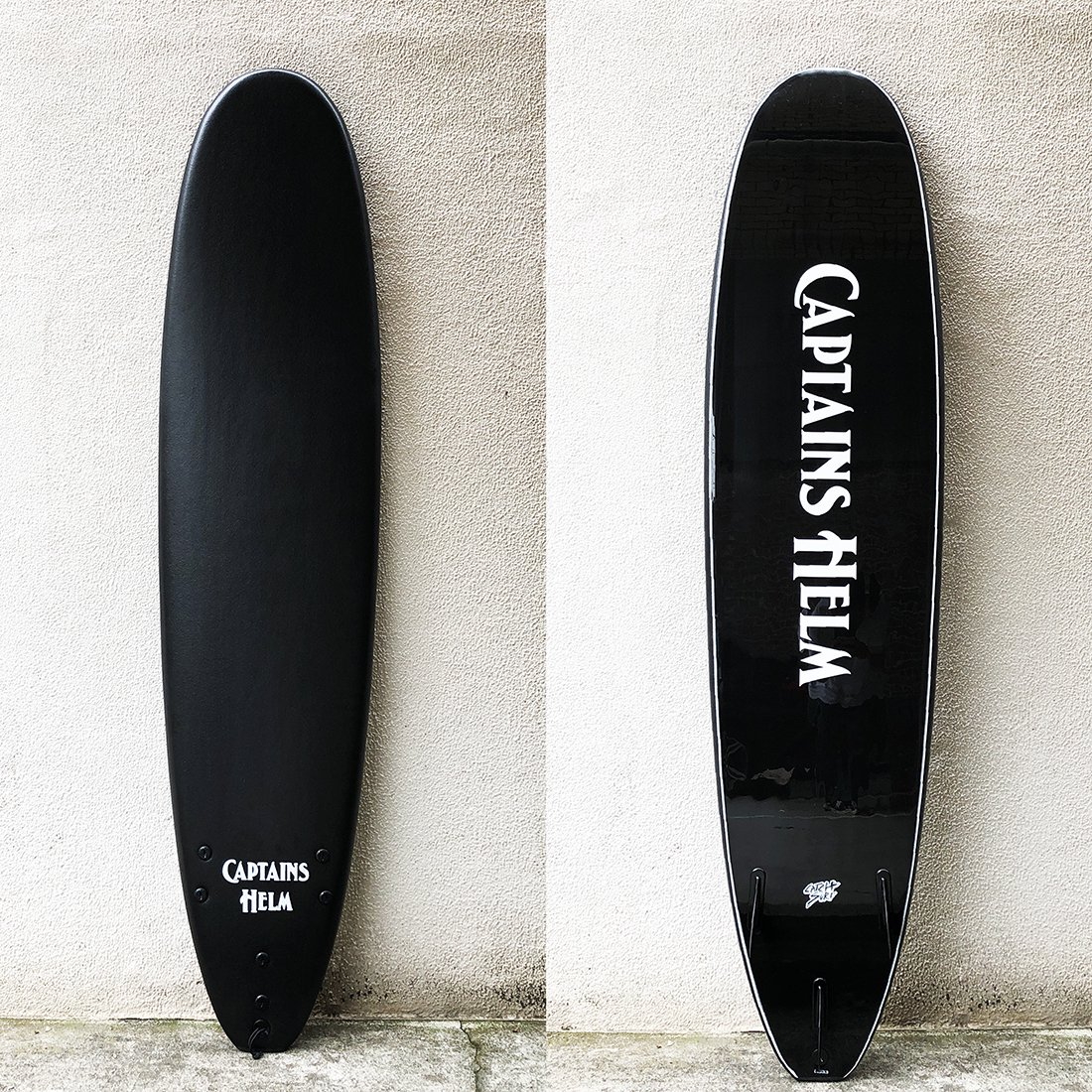 CATCH SURF × CAPTAINS HELM    #8'0 LOG (TRI FIN)