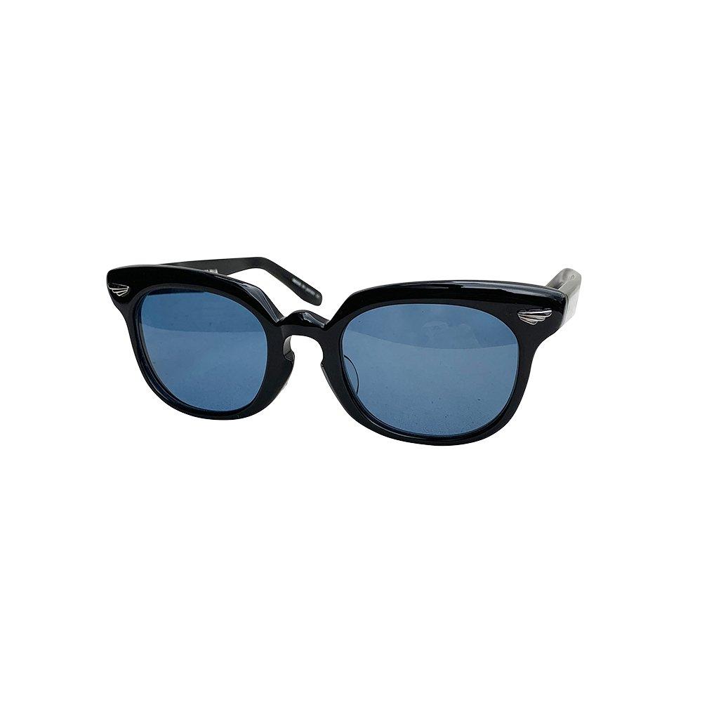 GROOVER × CAPTAINS HELM #LANDSAT   Black Flame / Blue Polarized Lens