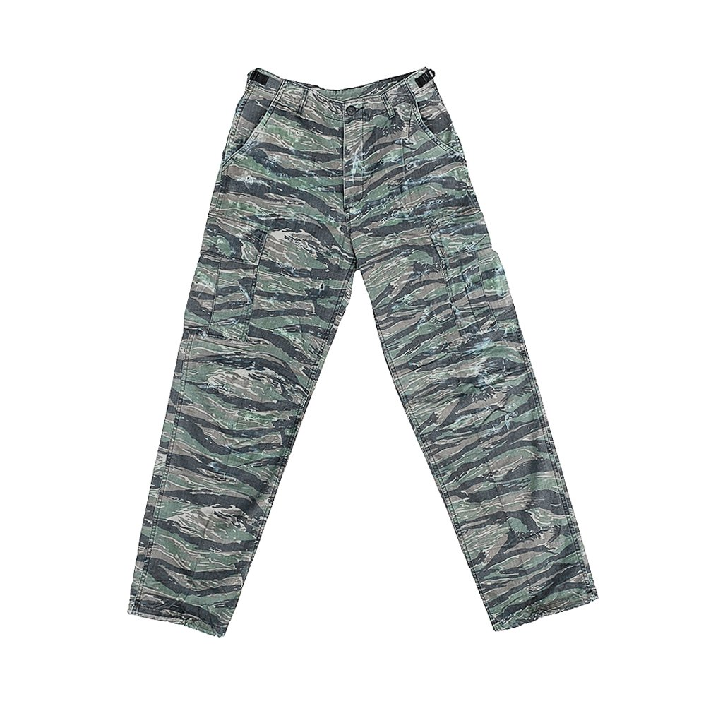 CAPTAINS HELM #CUSTOM FATIGUE PANTS -T.Camo