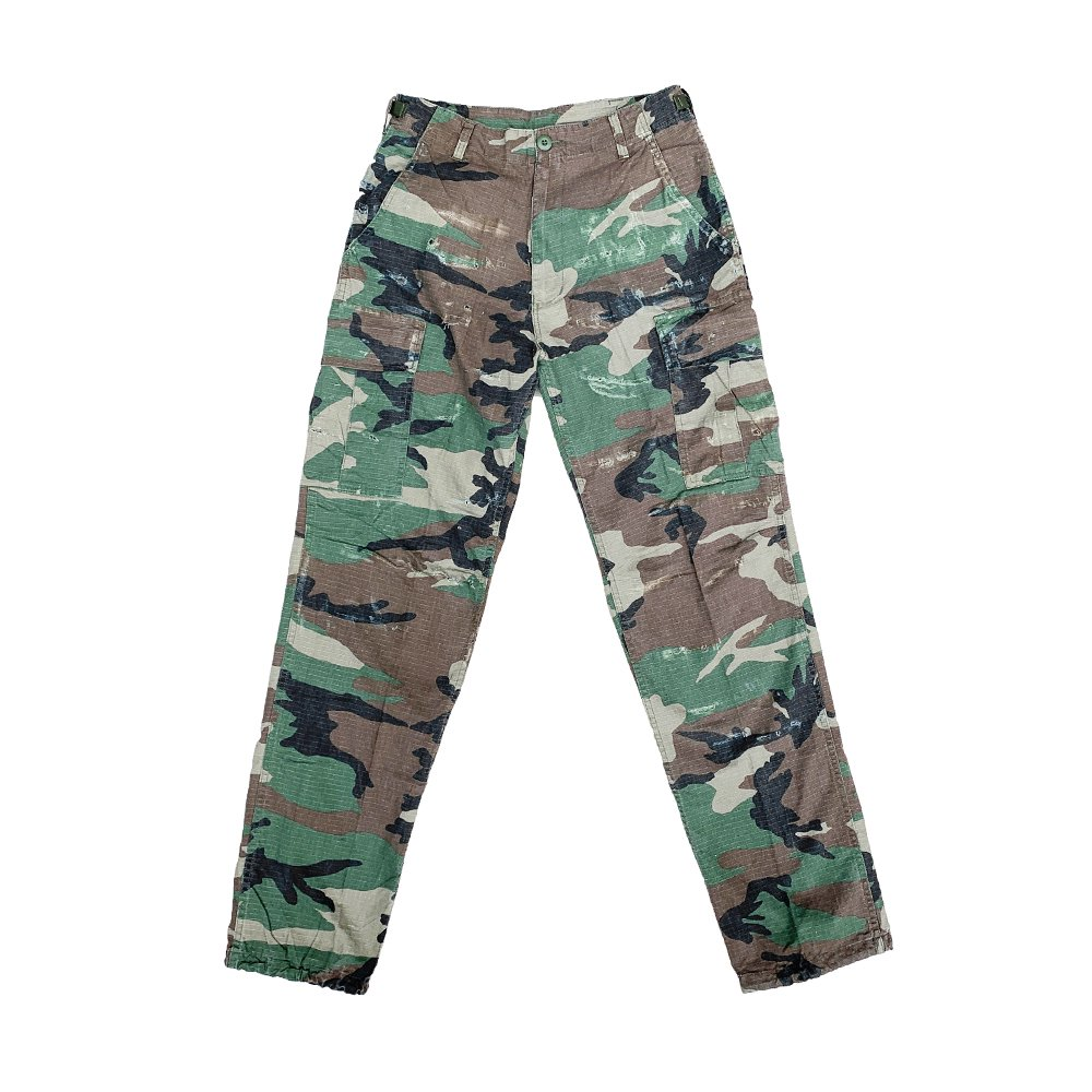 CAPTAINS HELM #CUSTOM FATIGUE PANTS -W.Camo