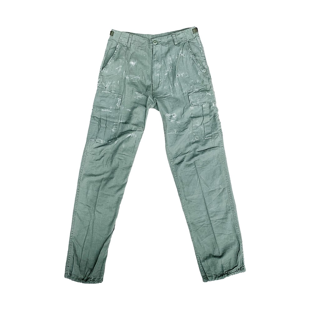 CAPTAINS HELM #CUSTOM FATIGUE PANTS -Olive