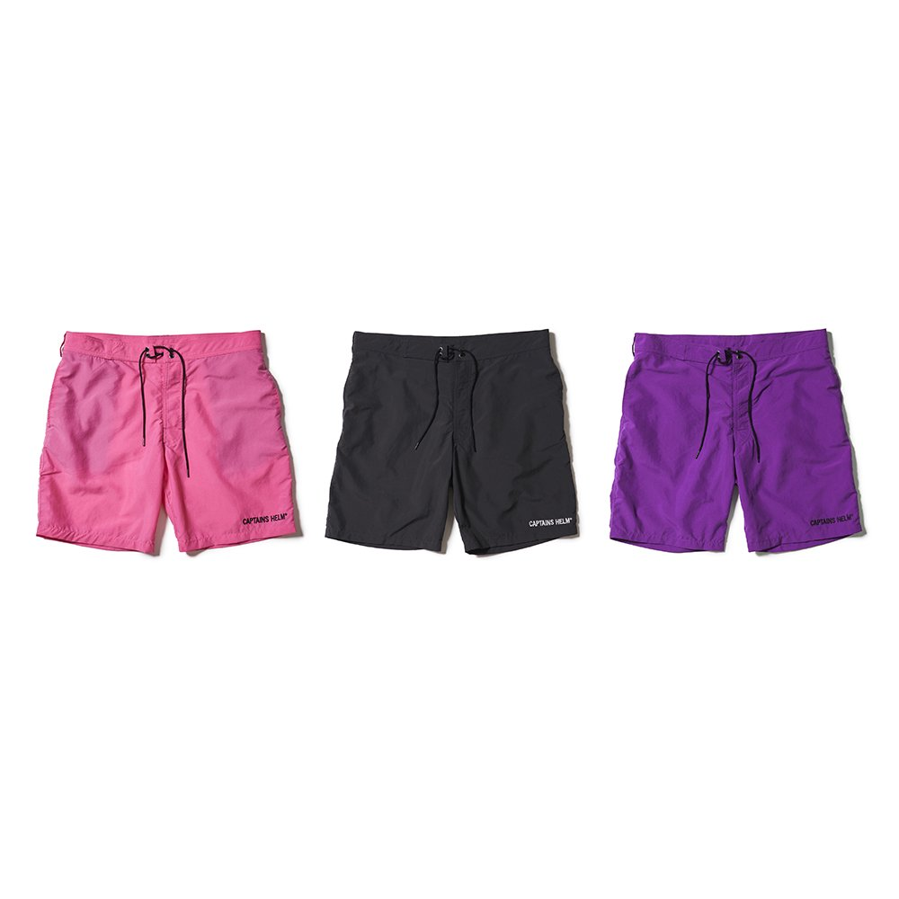 CAPTAINS HELM #SOLID BOARD SHORTS