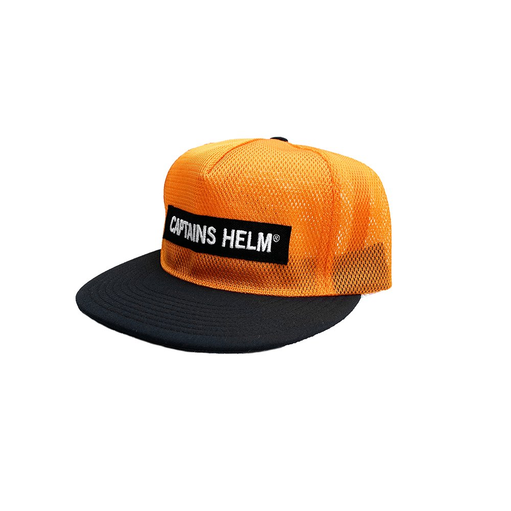 CAPTAINS HELM #TRADEMARK ALL MESH CAP -Tokyo Limited