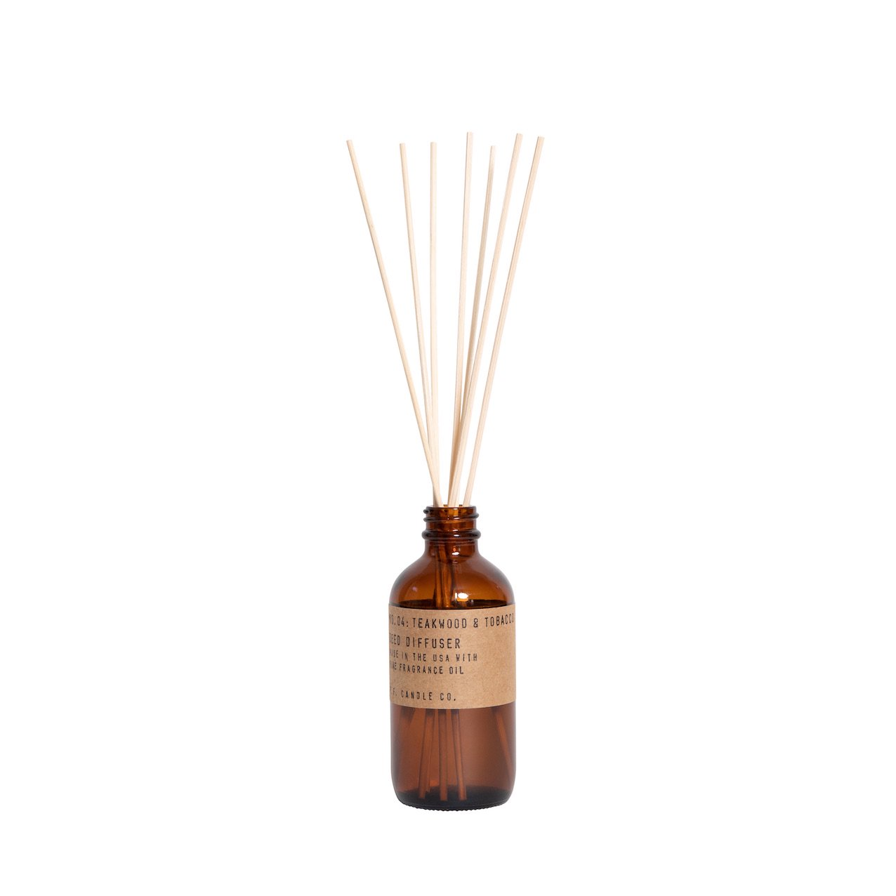 P.F. CANDLE CO.   #Reed Diffuser / 04 TEAKWOOD&TOBACCO