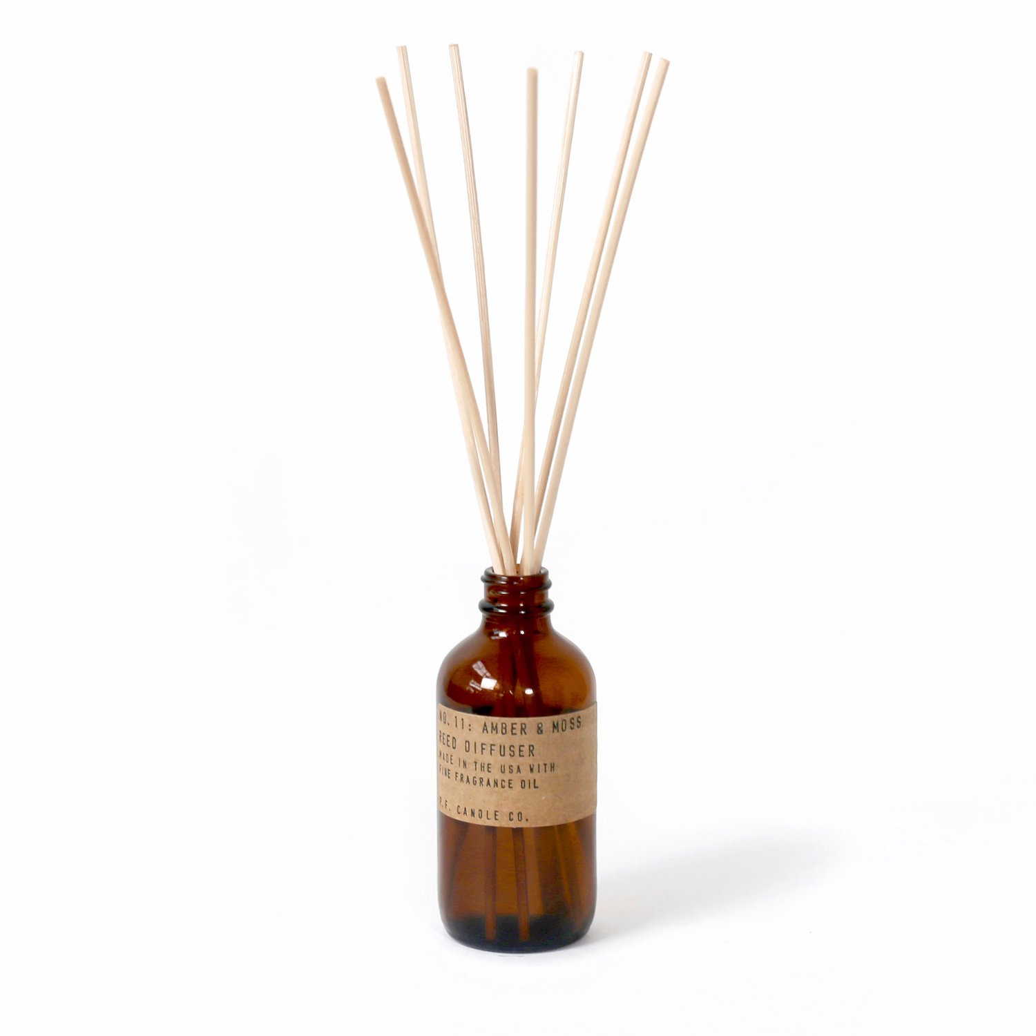P.F. CANDLE CO.   #Reed Diffuser / 11 AMBER&MOSS