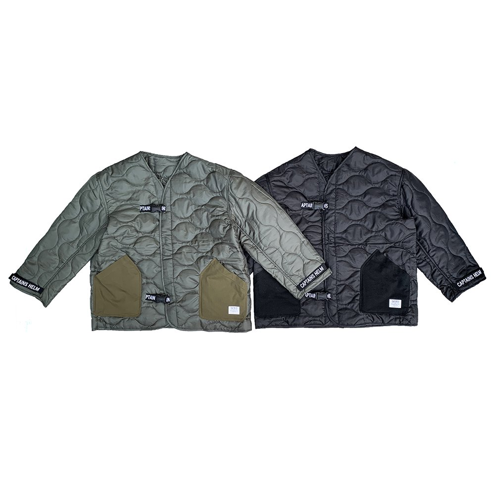 CAPTAINS HELM #MIL-SPEC QUILTING JACKET