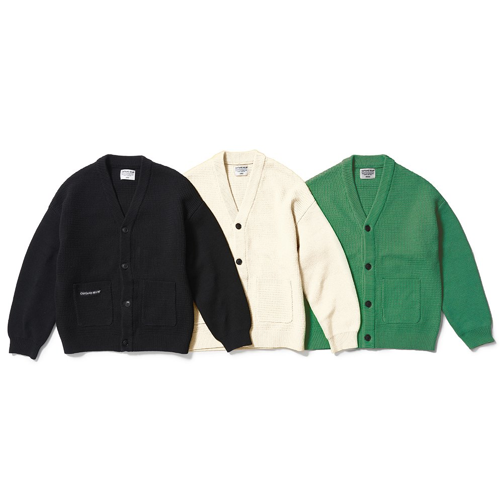 CAPTAINS HELM #OVER-SIZE CARDIGAN