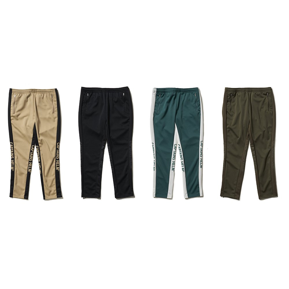 CAPTAINS HELM #SIDE MESH TRACK PANTS