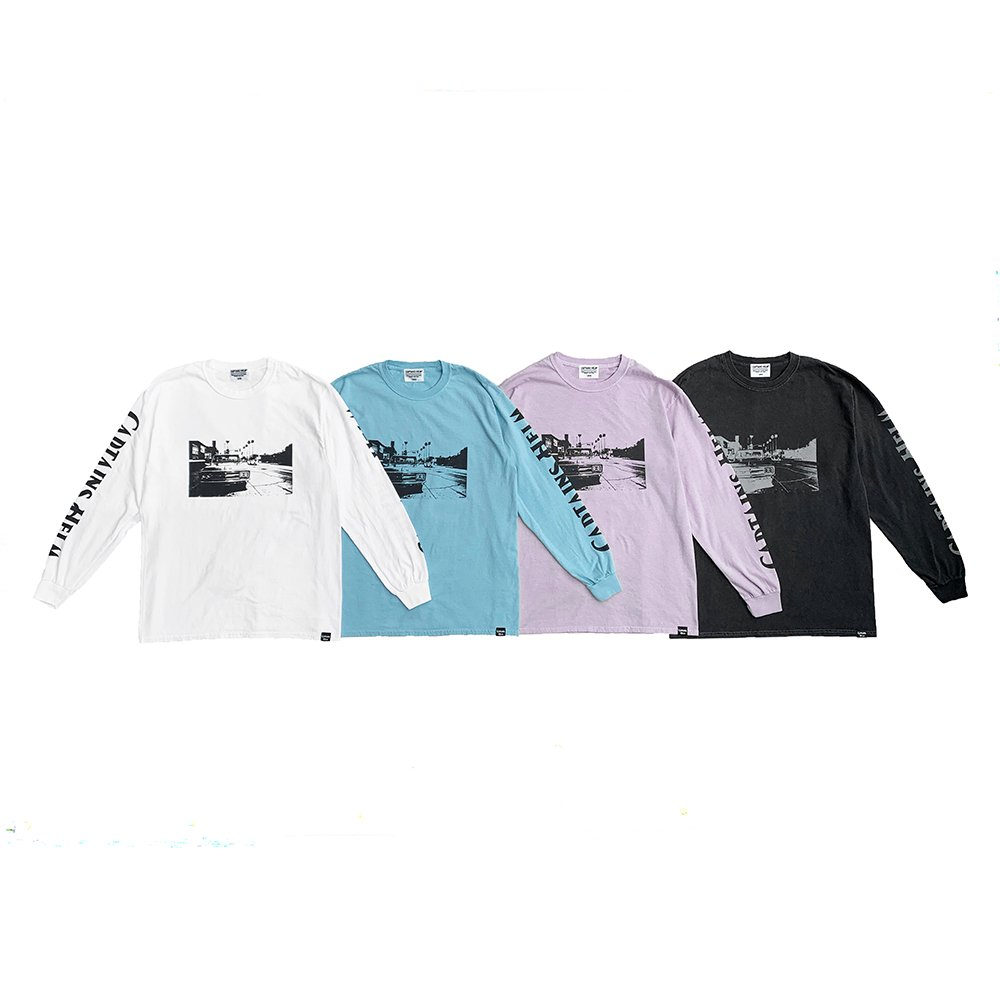CAPTAINS HELM #MY WAY L/S TEE