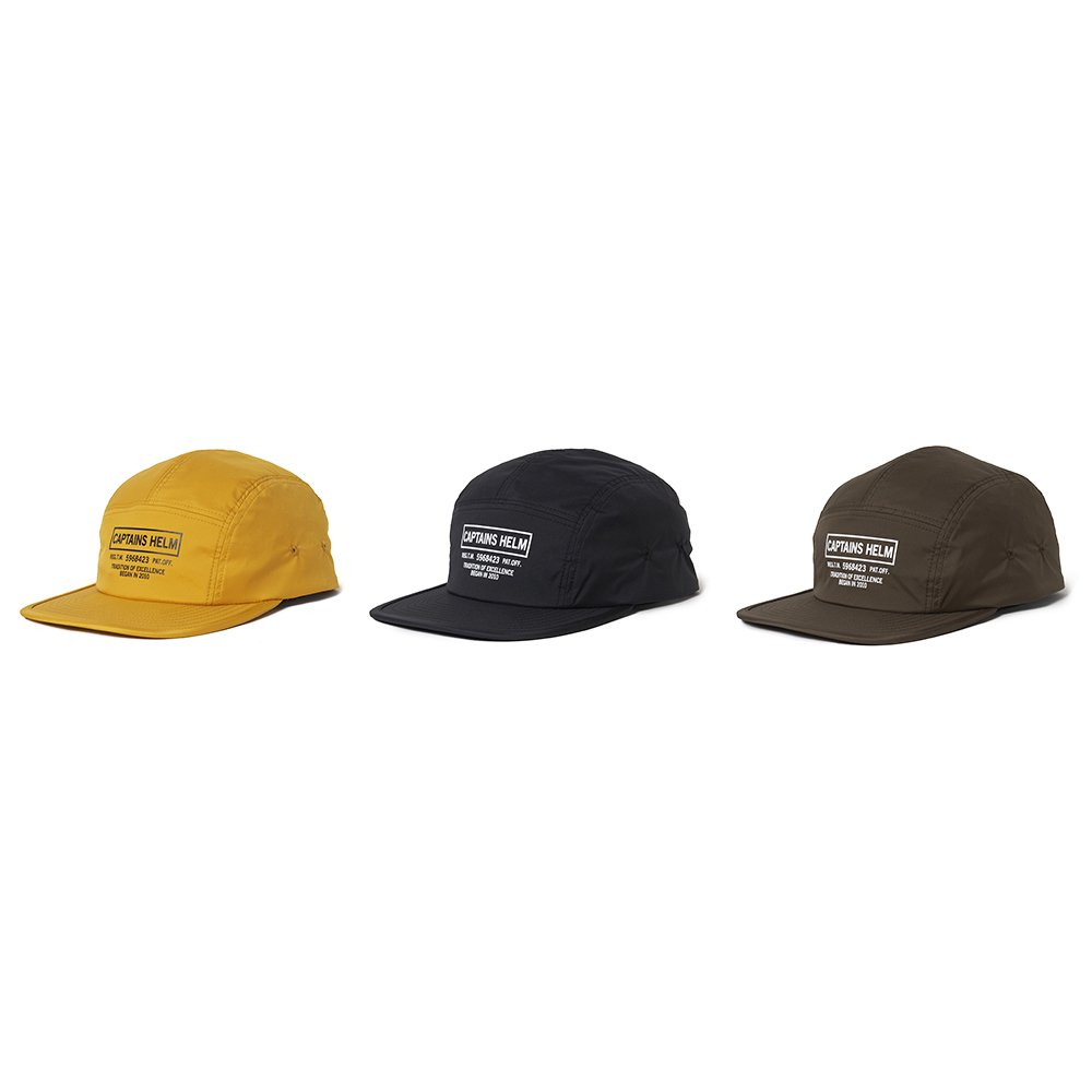 CAPTAINS HELM #WATER-PROOF LOGO JET CAP
