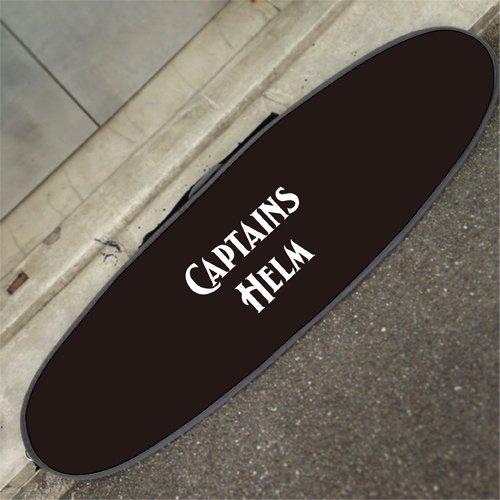 CAPTAINS HELM Original HARD CASE -Mid Length (ALL BLACK)