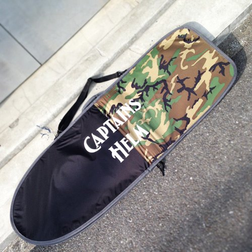 CAPTAINS HELM Original HARD CASE -Mini Simmons (CAMO × BLACK)