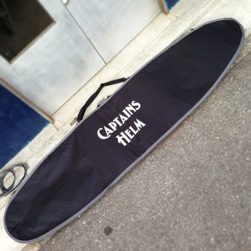 CAPTAINS HELM Original HARD CASE -Long Board (ALL BLACK)