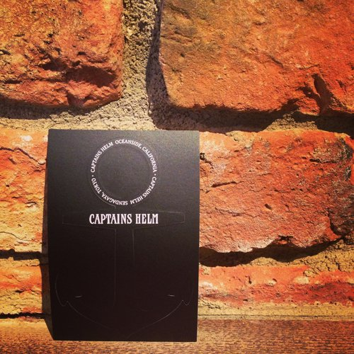 CAPTAINS HELM #iPhone STICKER