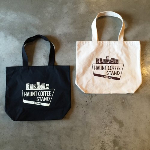 HAUNT COFFEE STAND by HELMS #US made ECO TOTE