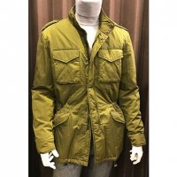 Hevo 【イーヴォ】 『519H33』 ThermoreライニングM-65型ナイロンジャケット (Olive Green)<img class='new_mark_img2' src='https://img.shop-pro.jp/img/new/icons41.gif' style='border:none;display:inline;margin:0px;padding:0px;width:auto;' />