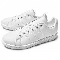 adidas 【アディダス】 adidas originals 『STANSMITH』 J women's (オールホワイト)