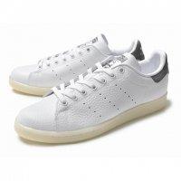 adidas 【アディダス】 adidas originals 『STANSMITH』 シュリンクレザー (ホワイト×グレー)